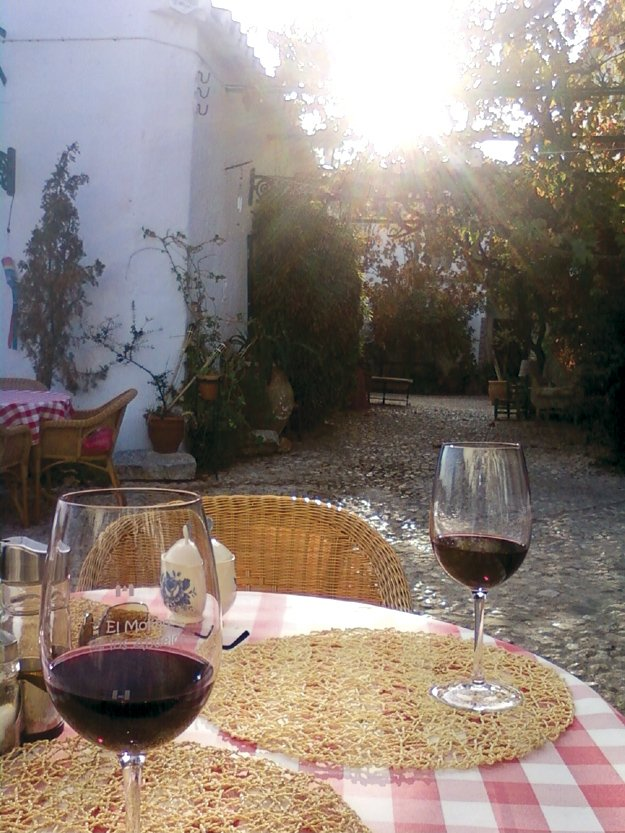 Writer's retreat in the Village of Comares in Andalucia, Spain