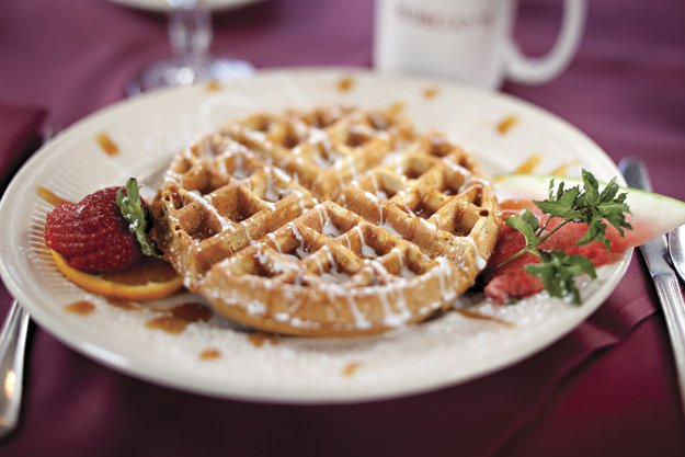 Morgan's gets the day started right with their increasingly popular breakfast menu.