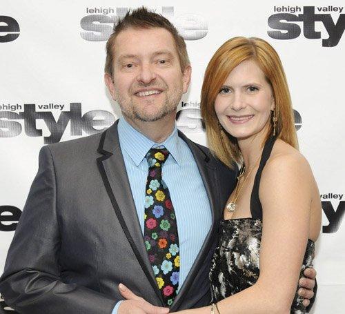 Rich Lewis and Jennifer Mann