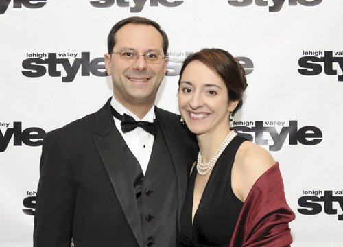 Rob Cuscino and Christine Lewis