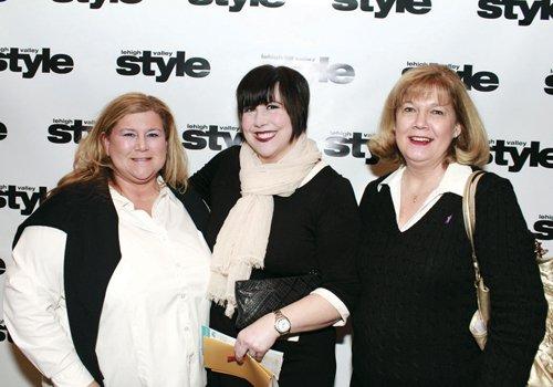 Sue Katz, Shannon Kriner and Martina Carpenter