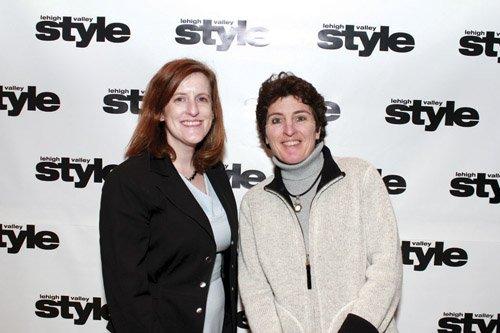 Alexandra Shade and Lis Flynn