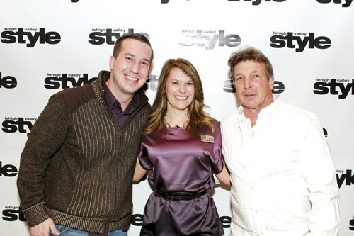 Jerry Deifer, Erica Rennig and Tom Schantz