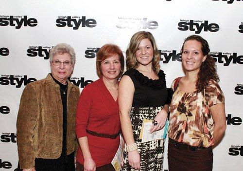 Marlene Bergstresser, Carol Chowansky, Holly Hohler and Katie Hoffman