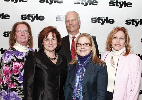 Sally Rissmiller, Ann Haydt, Bob Makos, Megan McGorry and Lisa Deutsch