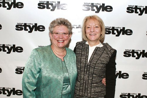 Carol Ritter and Pat Gorman