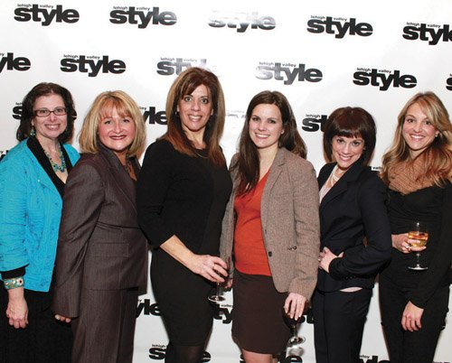 Joann Ferretti, Dorota Kozak, Patti Yetter, Karley Biggs, Jessica Moyer and Avery Smith
