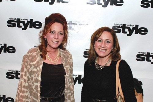 Kim Sherr and Sylvia Hoffman