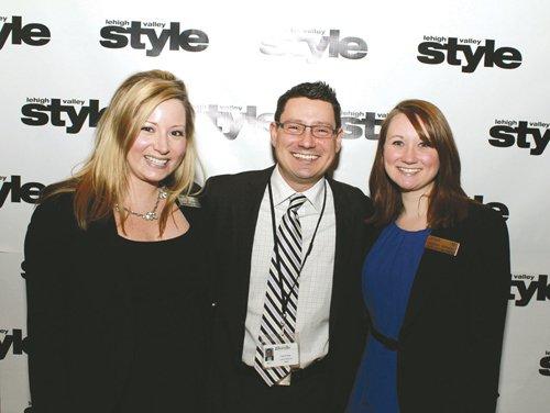 Julia Corwin, Patrick Ryan and Megan Verholy