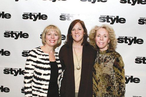 Linda Brown, Kay McLane and Betsy Torrence