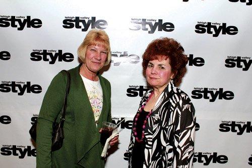 Charlotte Schall and Bobbie Kratzer