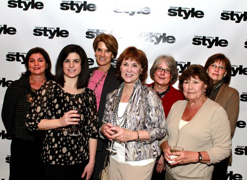 Lisa Villani, Amy Villani, Bernadette Holland, Judith Austin, Linda Durkin, Judy Hager and Michelle Luther