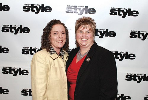 Sharon Laudome and Donna Walczer