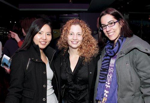 Eunseon Ott, Kelly Chubb and Nicole Kichline