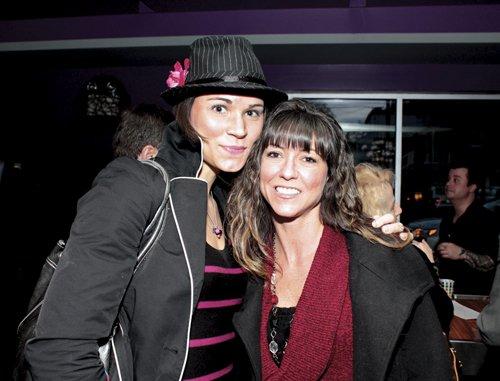 Jennifer Klock and Kelly Pechacek