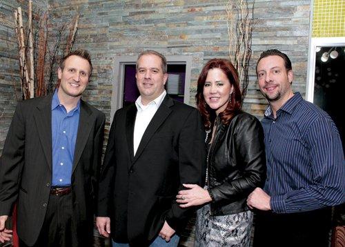 Keith Smith, Bryce Thompsen, Jaccii Farris and Rob Bloch