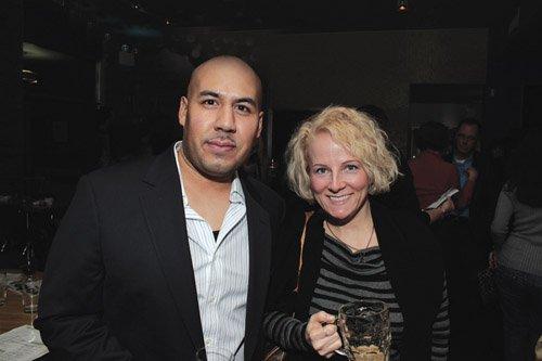 Sam Rodriguez and Amber Sorrentino