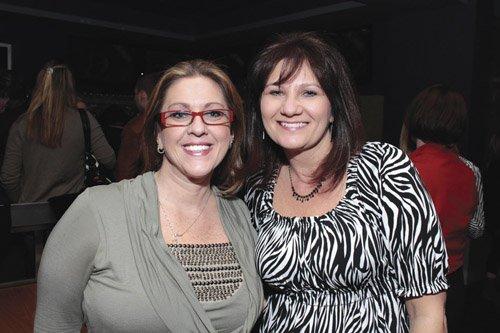 Sandy Kunsman and Debbie Deluca