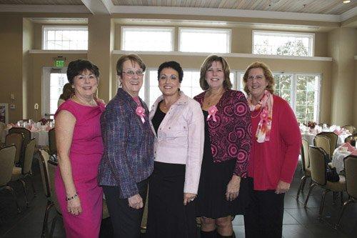 Pat Scagliotti, Judy Skinner, Nancy Ehle, Elissa Graner and Maggie Werner