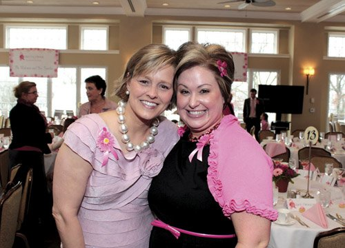 Mary Ann Wasil Nilan and Tracey Saab