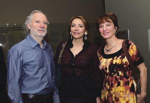 Jeff and Helen Acopian, and Nancy Keeler