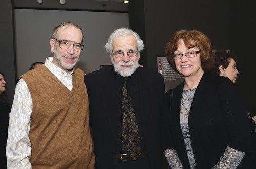 Dr. Ken Levin, Rudy Ackerman and Linda Langan