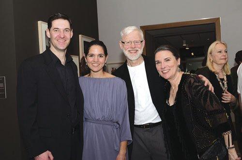 Dennis Morton, Jeannie Morton, and Gary and Lorie Harper