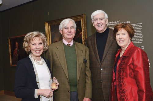 Anne Teuffel, Robert Teuffel, Robert Ford and Mary Elaine Ford
