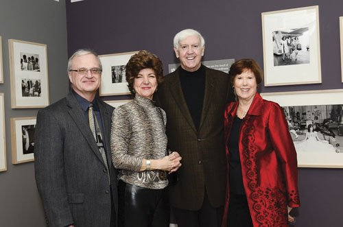 Steve Yuhas, Dolores Luptka and Robert and Mary Elaine Ford