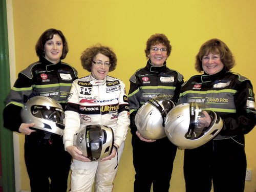 Michelle Forsell, Vivian Appel, Michele Varricchio and Susan Maurer