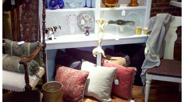 The treasures at Forgotten Treasure in Easton.