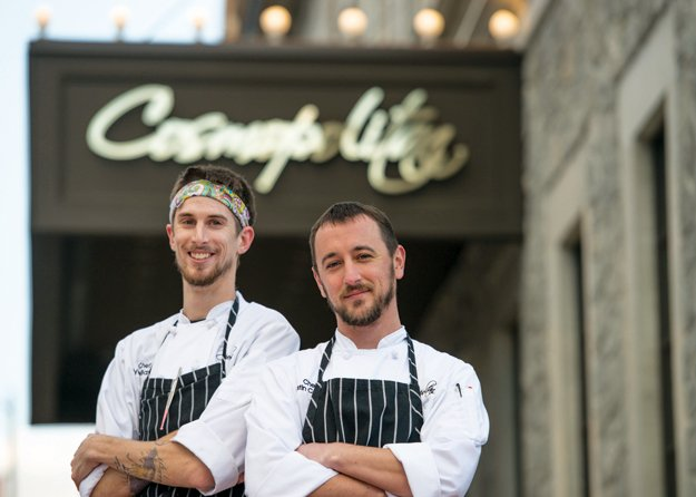Co-executive chefs Tyler Baxter and Justin Cogan