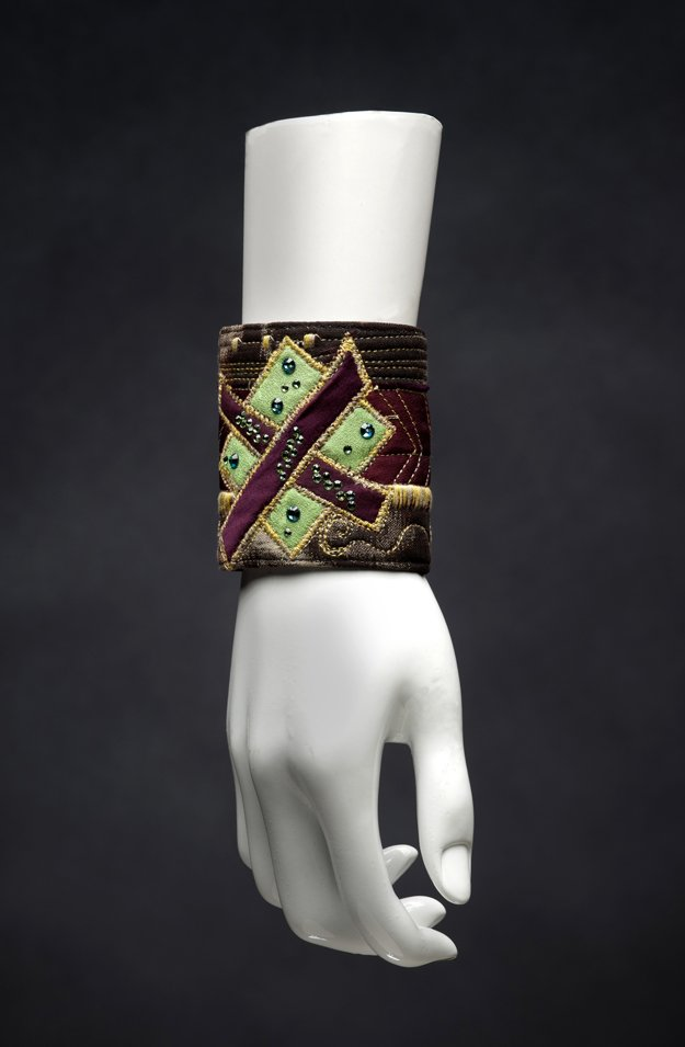Cult of the Goddess Cuff Vintage Silk