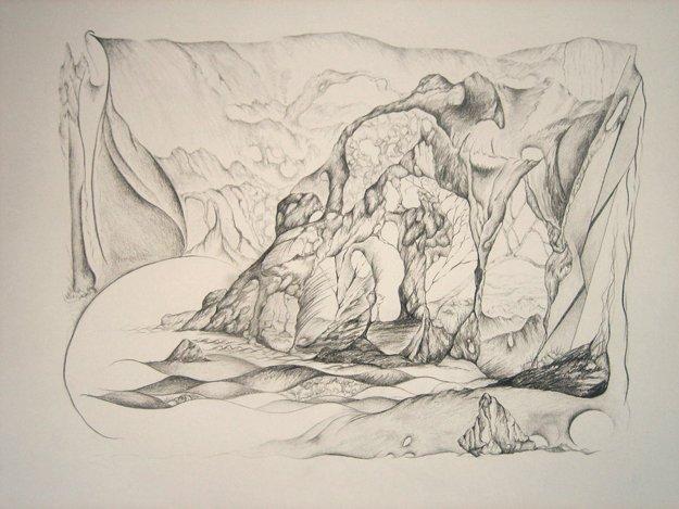 16217-ArtOrganicEscape-SandBeach19x16ingraphiteonpaper.JPG.jpe