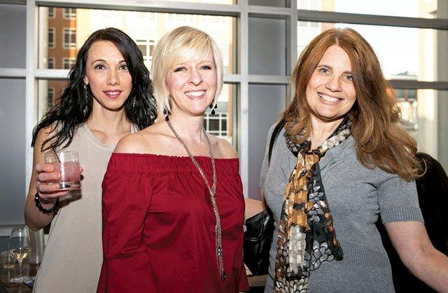 Maja Trifkovic, Lisa Lyon and Sheri Bayne.jpg