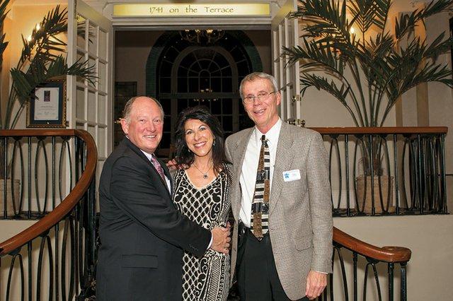 Dave Fritz, Lisa Bunin and Tom Portland.jpg