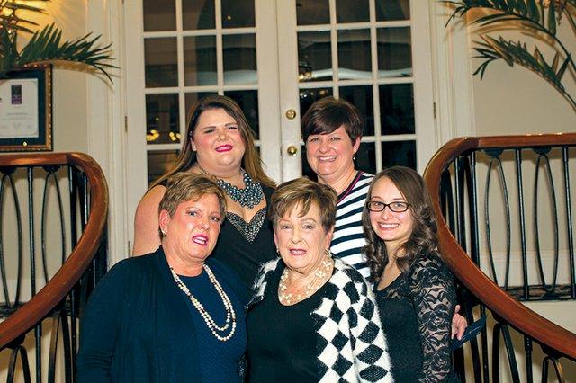 Owyn Baker, Tiffany Baker, Joslyn Kreider, Mikaila Kissel and Joyce Jones.jpg