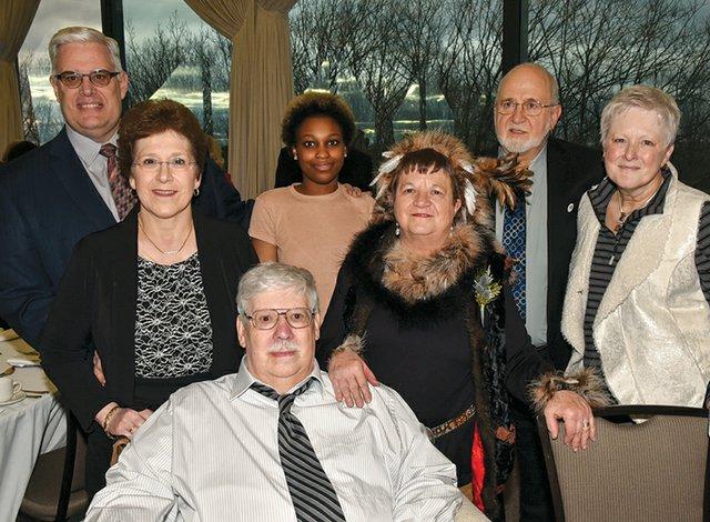 Nancy and David Heintzelman, Kali Shay, Linda Shay Gardner, Glenn Shay, Caroline Shay and Earl Shay.jpg