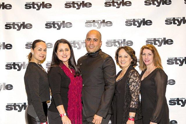 Diana Vargas, Nydia Jimenez, Principe Castro, Sayda Castaneda and Michelle Kohler.jpg
