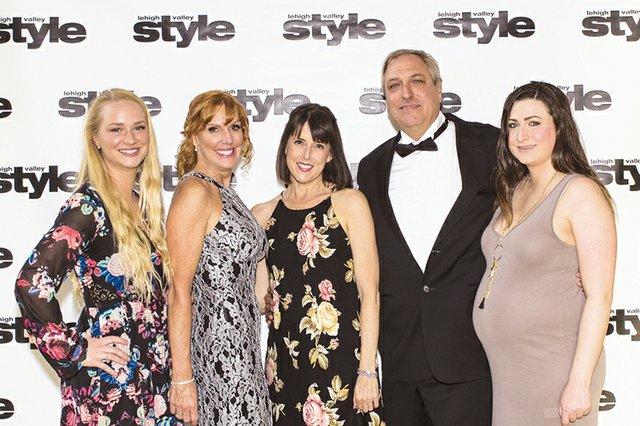 Lauren Bostick, Lisa Bostick, Lara Jill Miller, Chuck Bostick and Mariann Bostick.jpg