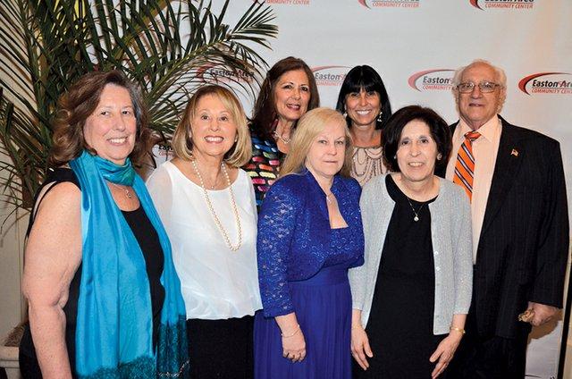 Kathy Preston, Joan Kicska, Pat Amin, Angel Kachline, Nina Attinello, Rosemary Baker and Len Buscemi.JPG