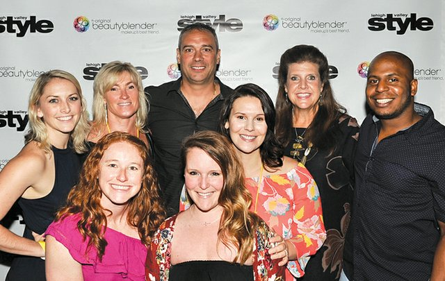 Andi Heimsoth, Emily Edwards, Deb and Vince Manganiello, Trisha Bender, Whitney Carullo, Ginna Kogler and John Baxter.jpg