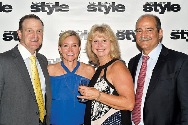 Eric and Michelle Lebby, and Evelyn and Tom DiBenedetto.jpg