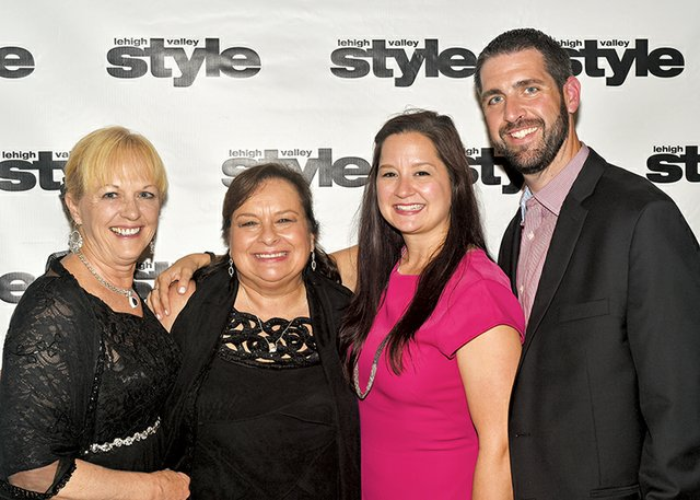 Linda Nittle, Linora Gula, Meghan Burke and Nick Loggia.jpg
