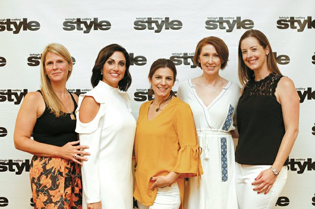 Sarah Dams, Ashley Russo, Elaine Zelker, Tina Hasselbusch and Janice Frary.jpg