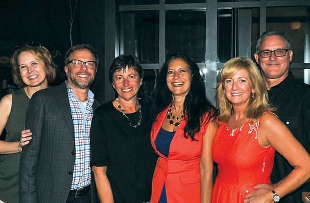 Kerry and Denis Aumiller, Suzanne Stianche, Lucy Bloise, Maria Esposito and John Conklin.jpg