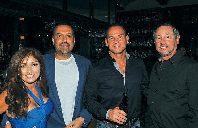 Sandy and Michael Salavati, George Trad and Allan Neibart.jpg