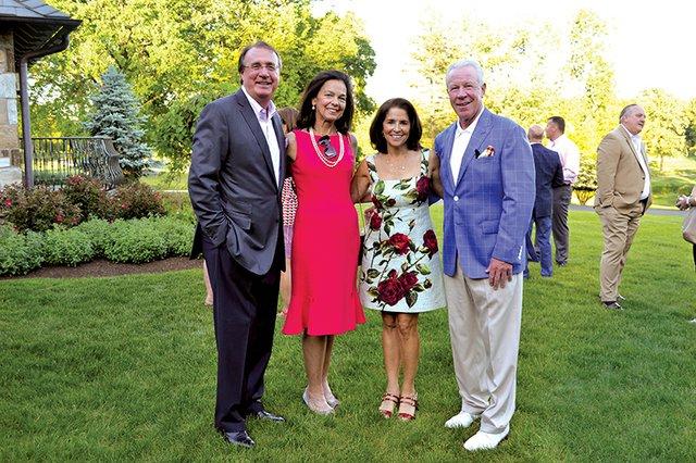 Caroll and Ellen Neubauer, and Kathy and John Weiland.JPG
