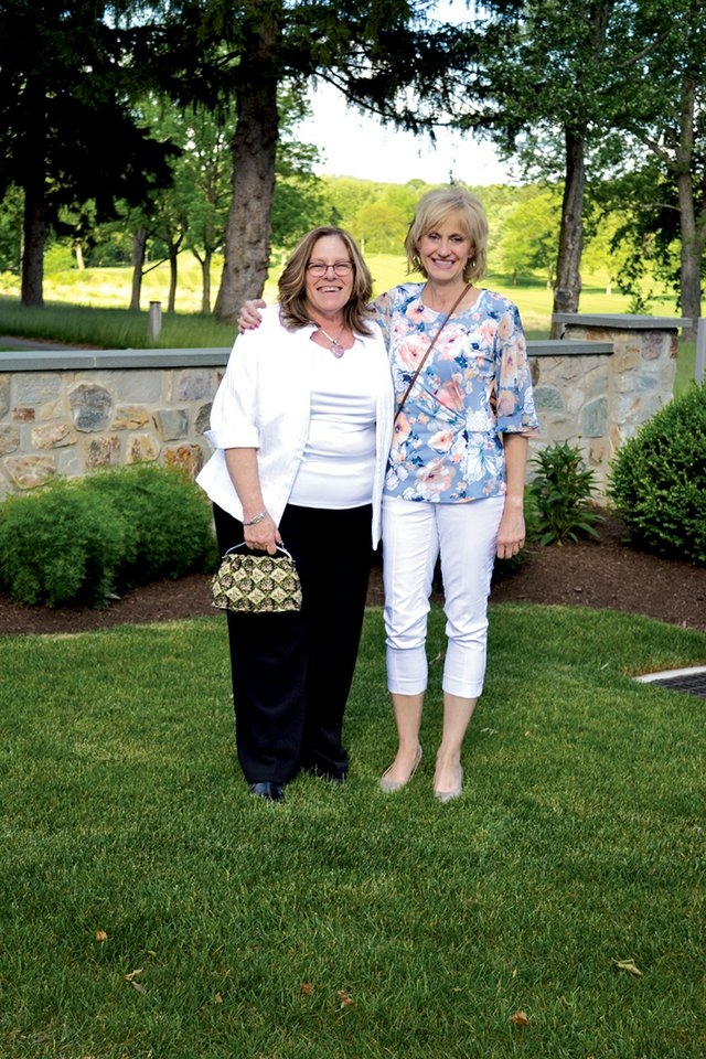 Debbie Luisi and Eva Seibert.JPG