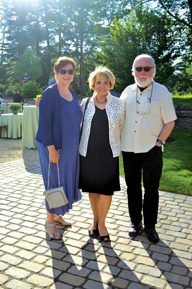 Dorothy Stephenson, Diane LaBelle and Norman Girardot.JPG